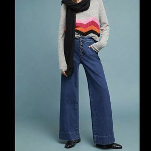 Anthropologie Pilcro And The Letterpress Jeans 25